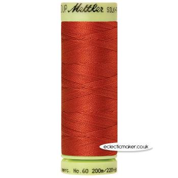 Mettler Cotton Thread - Silk-Finish 60 - Brick 1074