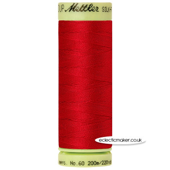 Mettler Cotton Thread - Silk-Finish 60 - Country Red 0504