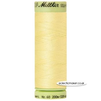 Mettler Cotton Thread - Silk-Finish 60 - Lemon Frost 1412