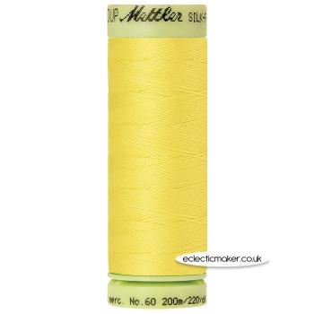 Mettler Cotton Thread - Silk-Finish 60 - Lemon Zest 3507