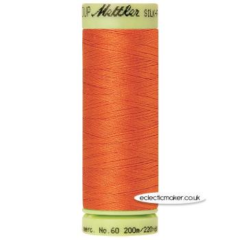 Mettler Cotton Thread - Silk-Finish 60 - Mandarin Orange 6255