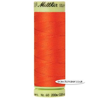Mettler Cotton Thread - Silk-Finish 60 - Paprika 0450