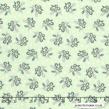 Michael Miller - Butterfly Row - Flower Toss in Spring