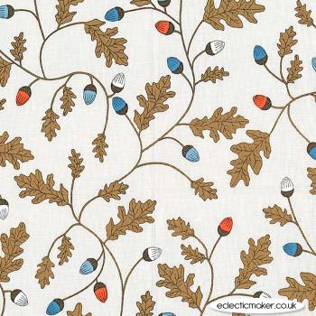 Michael Miller Fabric - Forest Gifts - Mysterious Oak in Oak