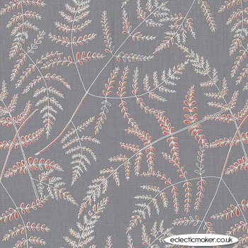 Michael Miller Fabric - Forest Gifts - Wood Fern in Clay