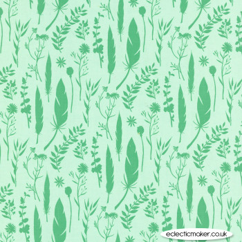 Michael Miller Fabric - Joy - Lost & Found in Leaf