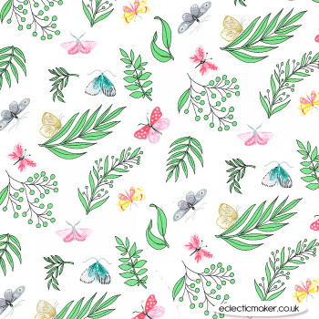 Michael Miller Fabric - Joy - Tapestry in Sprout