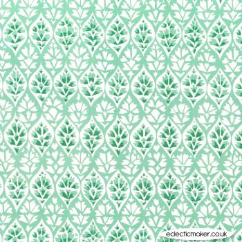 Michael Miller - Kashmir Garden - Lattice in Mint