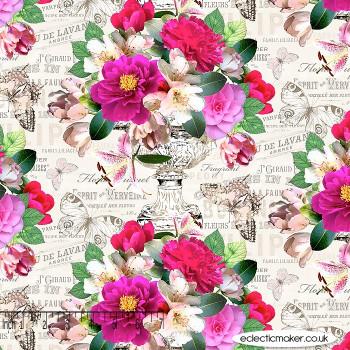 Michael Miller Fabrics - Mon Ami - in Cream