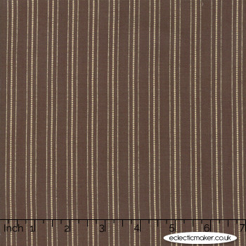 Moda Fabrics - 101 Maple Street - Country Stripes in Maple Syrup