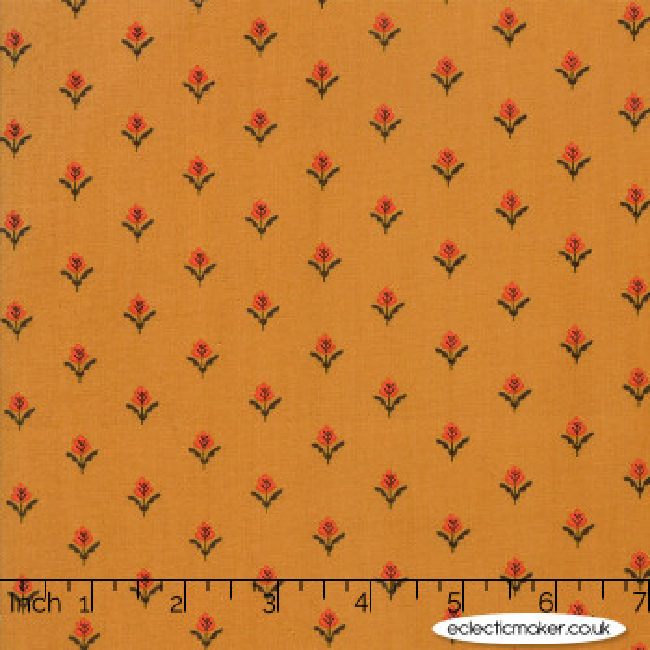 Moda Fabrics - 101 Maple Street - Farmhouse Fleurs in Acorn