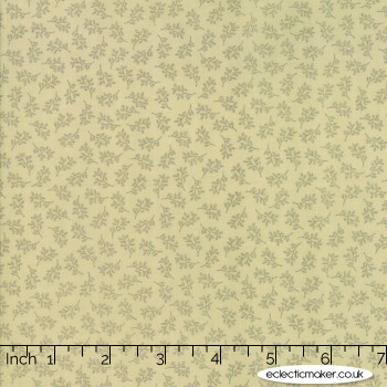 Moda Fabrics - 101 Maple Street - Tiny Vines in Pale Sage