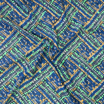 Moda Fabrics - Botanica RAYON - Daydream in Navy