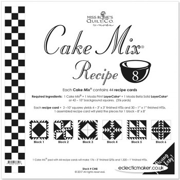 Moda Cake Mix Recipe 8 - Miss Rosie's Quilt Co