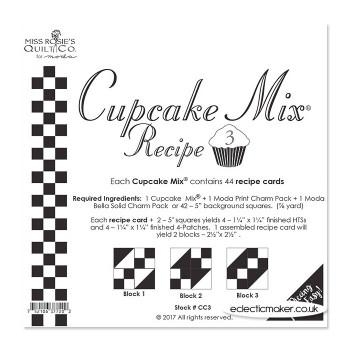 Moda Cupcake Mix Recipe 3 - Miss Rosie's Quilt Co