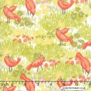 Moda Fabrics - Dandi Annie - Little Birds in Cloud