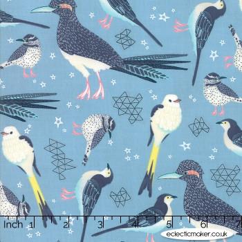 Moda Fabrics - Desert Song - Fly Free in Storm