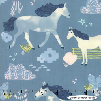 Moda Fabrics - Desert Song - Wild At Heart in Storm