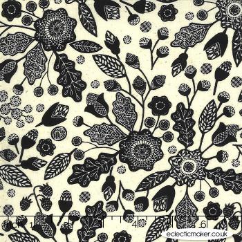 Moda Fabrics - Maryland - Baltimore Floral in Linen