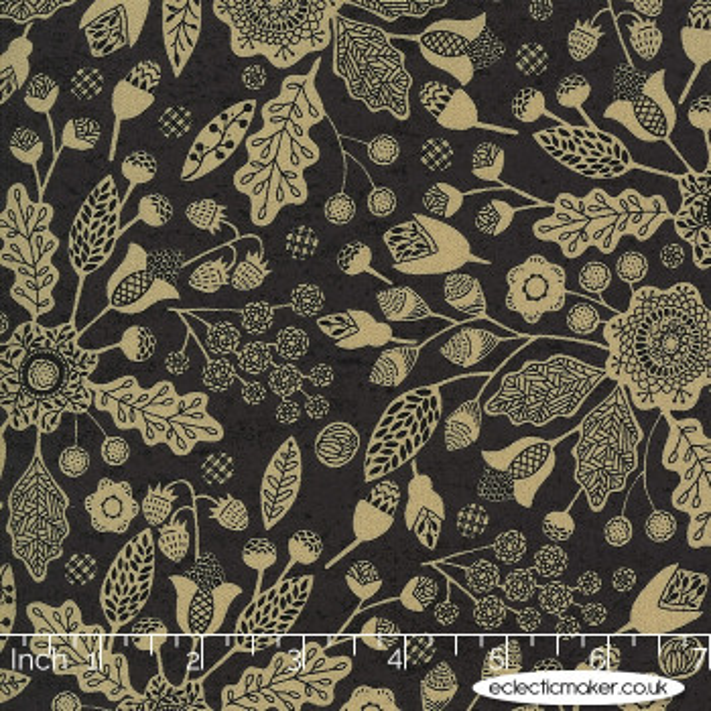 Moda Fabrics - Maryland - Baltimore Floral in Nightfall