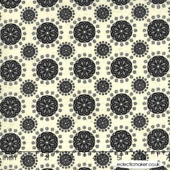 Moda Fabrics - Maryland - Bud Dots in Linen Nightfall