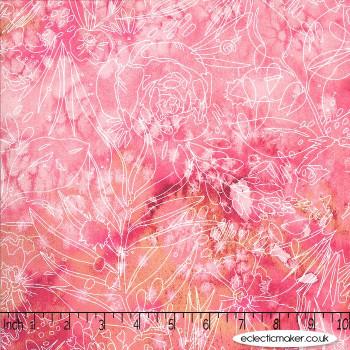 Moda Fabrics - Moody Bloom - Her Garden in Fuchsia