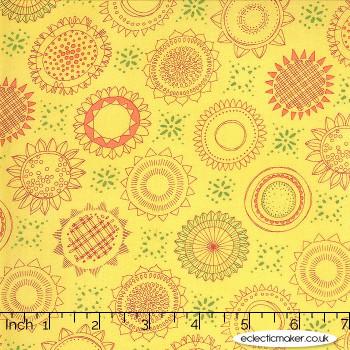 Moda Fabrics - Solana - Varietals on Buttercup