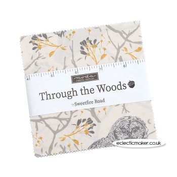 Moda Fabrics - Through the Woods - Charm Pack - Sweetfire Road