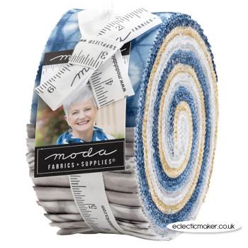 Moda Fabrics - Tochi - Jelly Roll - Debbie Maddy