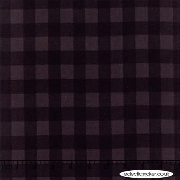 Moda - Wool & Needle Flannels V - Ninepatch in Blackbird