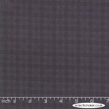 Moda Fabrics - Farmhouse Flannels II - Country Check in Iron