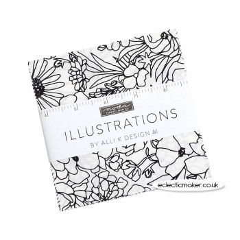 Moda Fabrics - Illustrations - Charm Pack - Alli K Designs