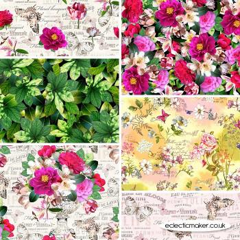 Michael Miller Fabric - Mon Ami - Fabric Bundle in Multi