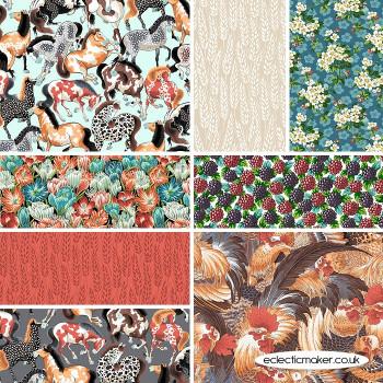 FreeSpirit Fabrics - Neddys Meadow - Fabric Bundle in Multi