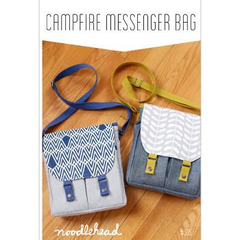 Noodlehead - Campfire Messenger Bag Pattern