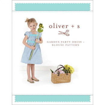 Oliver & S - Garden Party Dress and Blouse Sewing Pattern