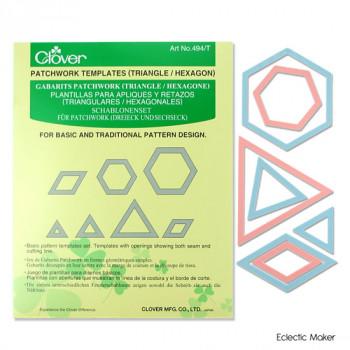 Patchwork Templates (Triangle/Hexagon)