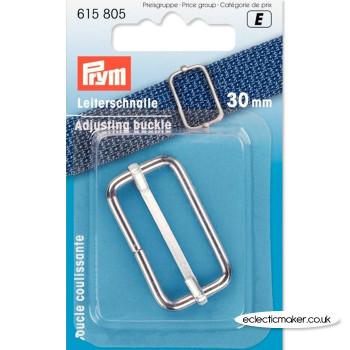 Prym Adjusting Buckle - Silver 30mm