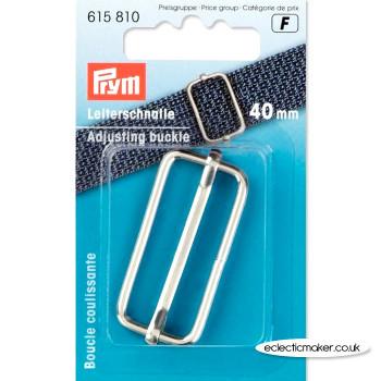 Prym Adjusting Buckle - Silver 40mm