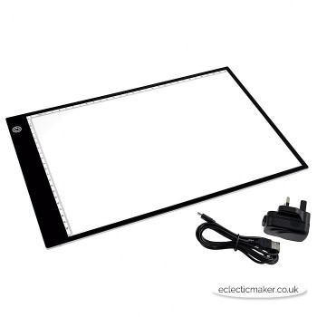 PURElite LED Light Box - Ultra Thin A4
