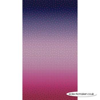 Riley Blake Fabrics - Gem Stones - Multi Blue Raspberry