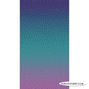 Riley Blake Fabrics - Gem Stones - Multi Mystical Sky