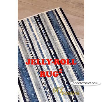 RJ Designs - Jelly Roll Rug 2 Pattern