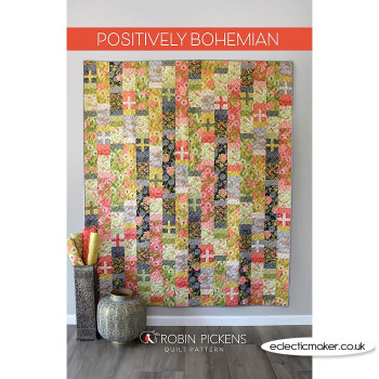 Robin Pickens - Positively Bohemian Quilt Pattern