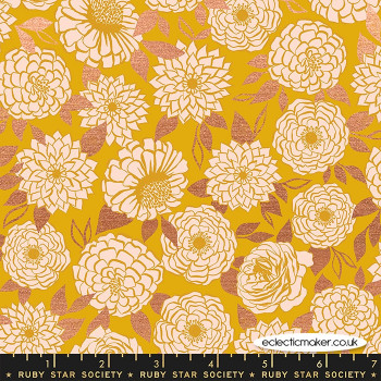 Ruby Star Society - Stay Gold - Sparkle in Metallic Goldenrod