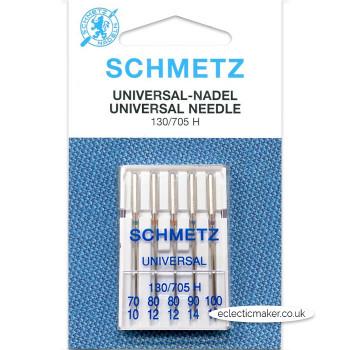 Schmetz Universal Needles Size Assorted 70/10 - 100/16