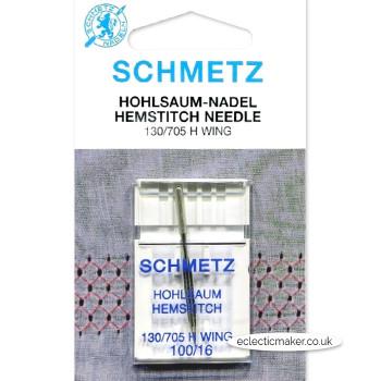 Schmetz Hemstitch/Wing Needles Size 100/16