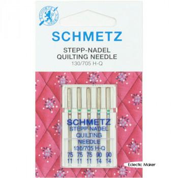 Schmetz Quilting Needles Size 75/11 & 90/14