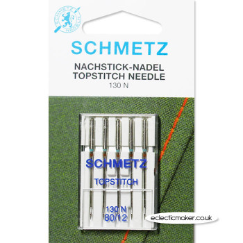 Schmetz Topstitch Needles Size 80/12