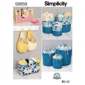 Simplicity Pattern S8859 Organizers